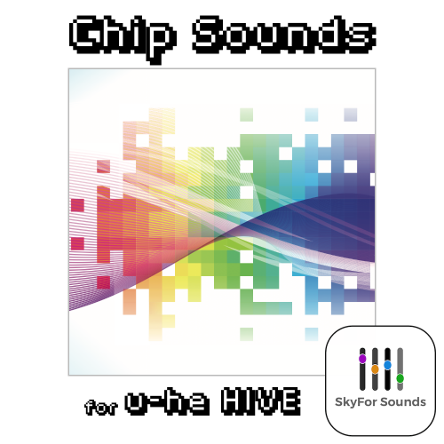 SkyforSounds CHIP SOUNDS for u-he HIVE\