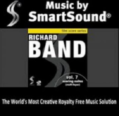 SmartSound Richard Band v.7 Scoring Suites SCD DVDR-SONiTUS
