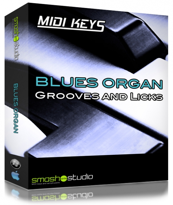 Smash Up The Studio Midi Keys Blues Organ MiDi