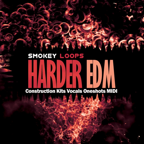 Smokey Loops Harder EDM WAV MiDi