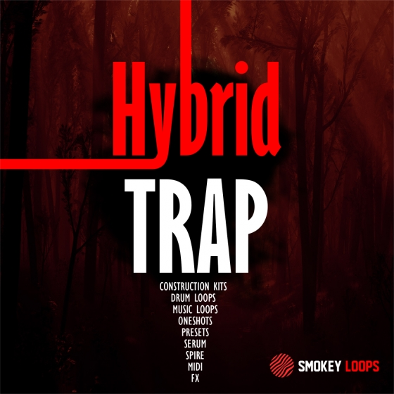 Smokey Loops Hybrid Trap WAV MiDi SPiRE AND SERUM PRESETS