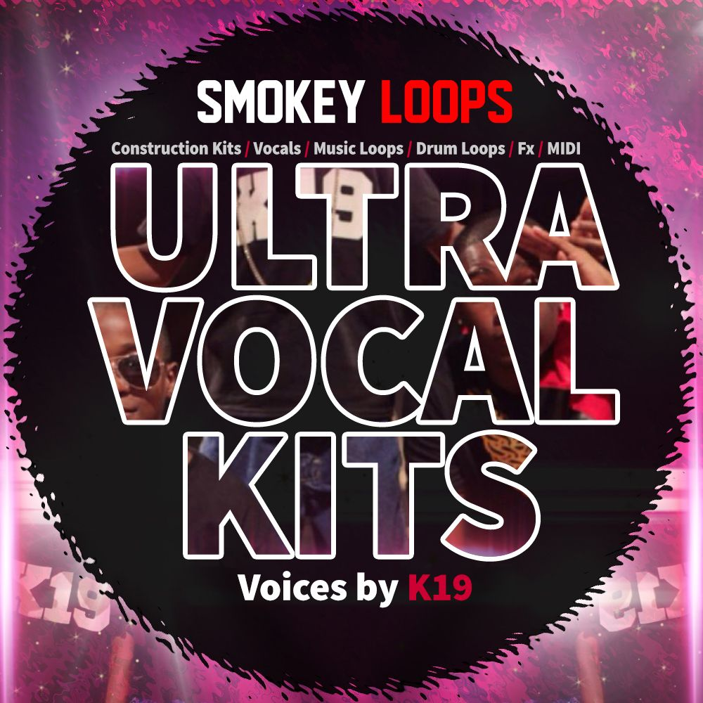 Smokey Loops Ultra Vocal Kits WAV MiDi