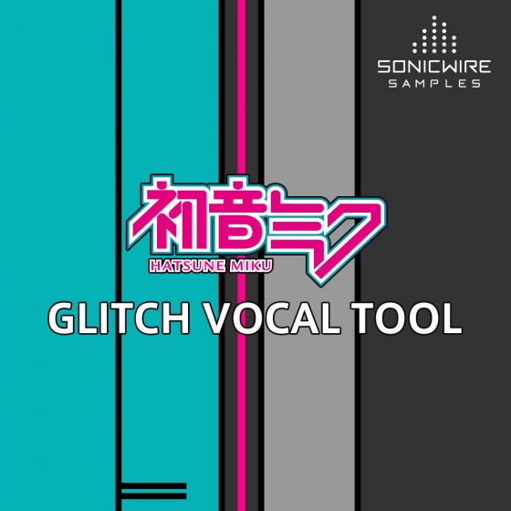 Sonicwire Hatsune Miku Glitch Vocal Tool Ableton Live 9.1.6+and Max For Live