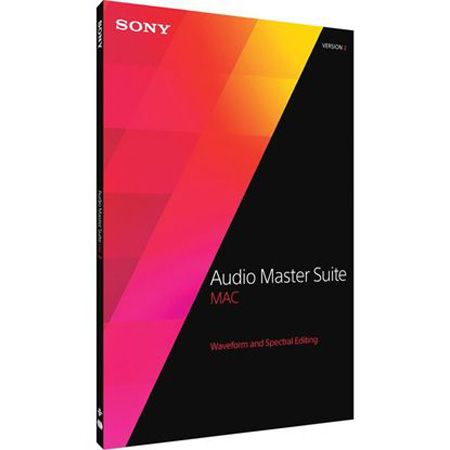 Sony Audio Master Suite 2 v2.5.0.133 MacOSX