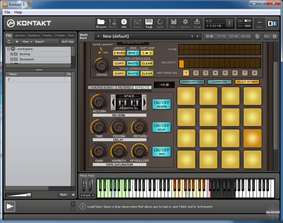 SoulViaSound SKRUM DRUM KONTAKT