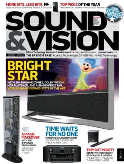 Sound & Vision February-March 2016