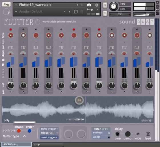 Sound DUST Flutter EP Wavetable Add-on UPDATE KONTAKT