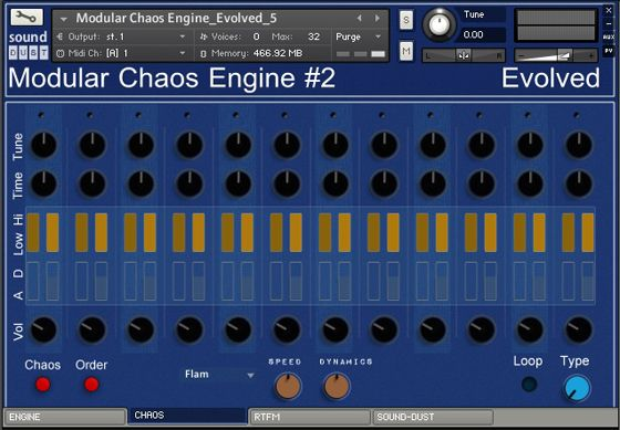 Sound Dust Evolved Modular Chaos Engine 2.1 KONTAKT