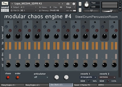 Sound Dust Modular Chaos Engine 4 KONTAKT