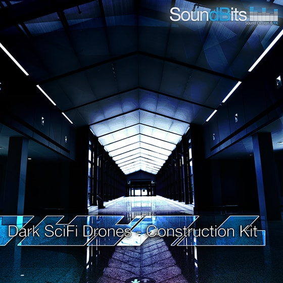 SoundBits Dark SciFi Drones + Construction Kit WAV