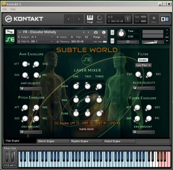 Soundethers Subtle World KONTAKT