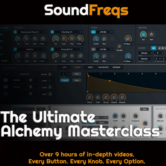 Soundfreqs The Ultimate Alchemy Masterclass TUTORiAL