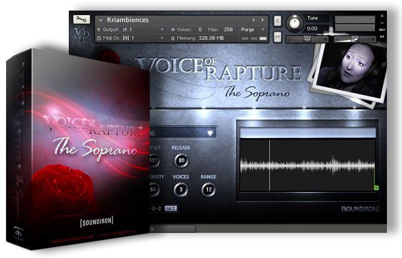 Soundiron Voice of Rapture The Soprano KONTAKT