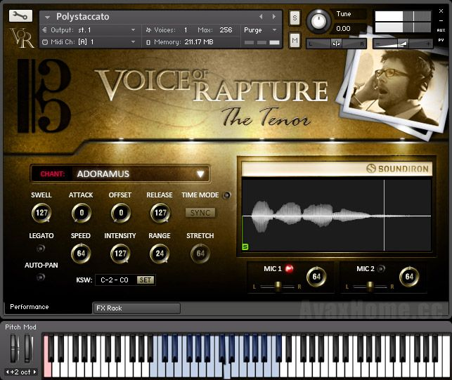 Soundiron Voice of Rapture The Tenor KONTAKT