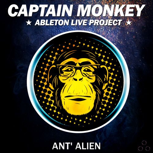 Speedsound Ant Alien Captain Monkey For ABLETON LiVE TEMPLATE