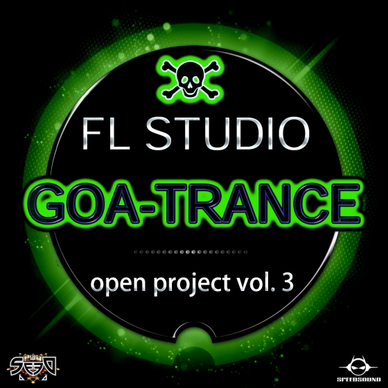 Speedsound Loops Goa Trance Open Project Vol 3 For FL STUDiO PROJECT