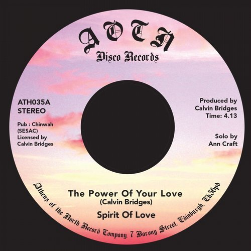 Spirit Of Love - The Power Of Your Love [ATH 035]