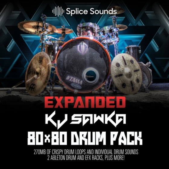 Splice Sounds - KJ Sawka Expanded Drum Pack WAV
