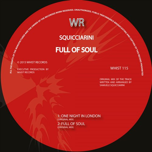 Squicciarini – Full of Soul [WHIST115]