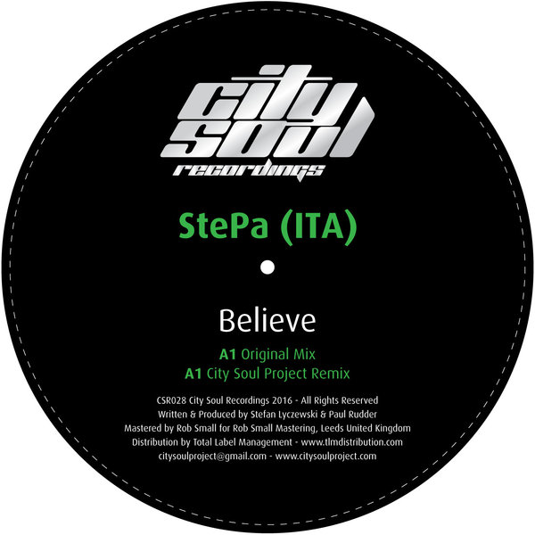 StePa (ITA) - Believe [CSR028]