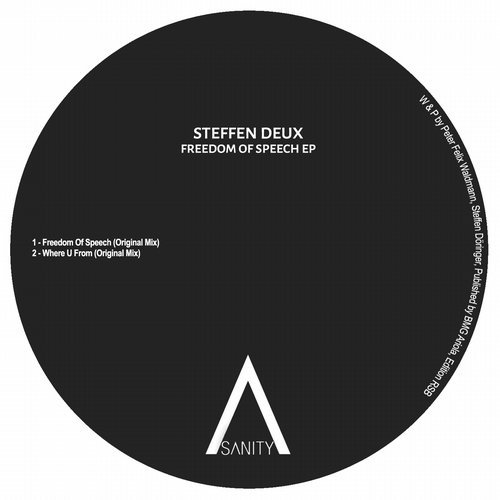 Steffen Deux - Freedom Of Speech EP [SNR164]