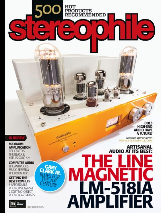 Stereophile October 2015