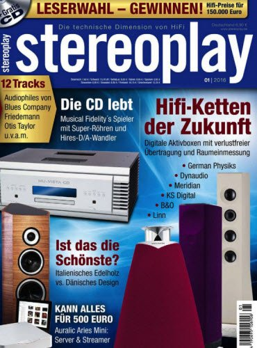 Stereoplay Magazin Januar No 01 2016