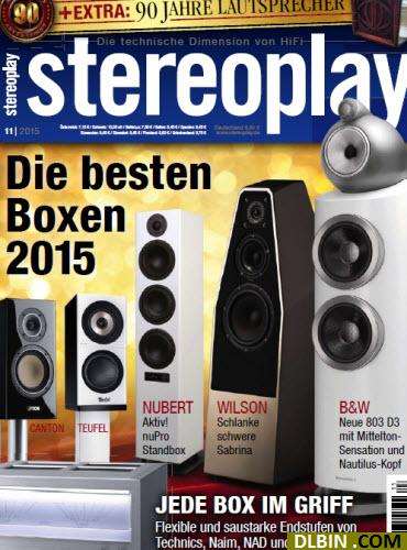 Stereoplay Magazin November No 11 2015