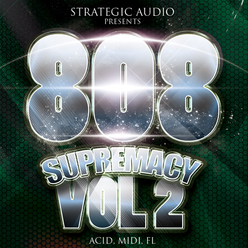 Strategic Audio 808 Supremacy Vol.2 WAV MIDI FLP
