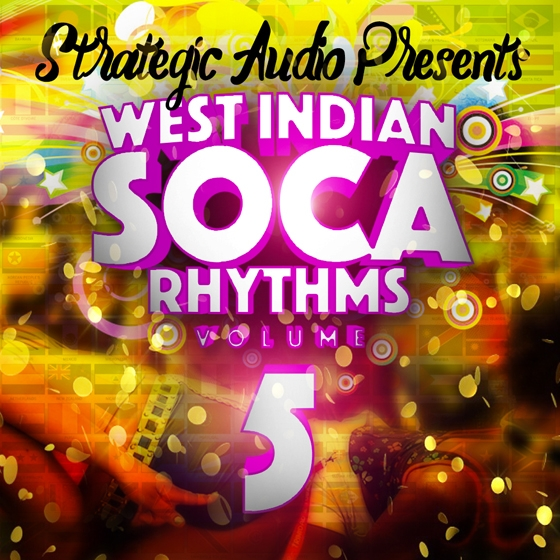Strategic Audio West Indian Soca Rhythms Vol.5 WAV MiDi FLP