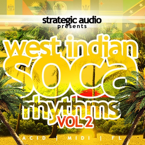 Strategic Audio West Indian Soca Rhythms Vol.2 ACiD WAV MiDi