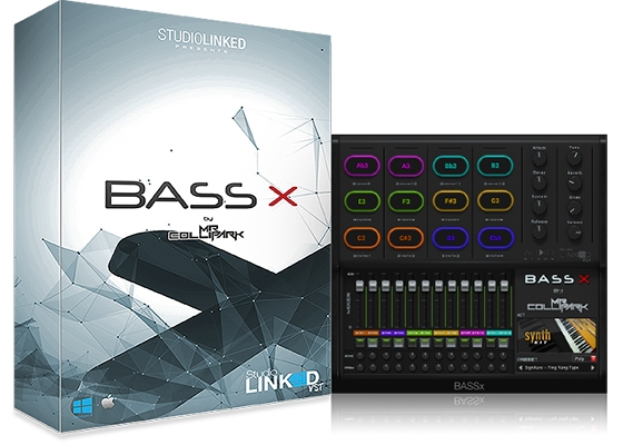 StudioLinkedVST BASSx by Mr.Collipark Winx32/64-Bit MAC/VST/AU