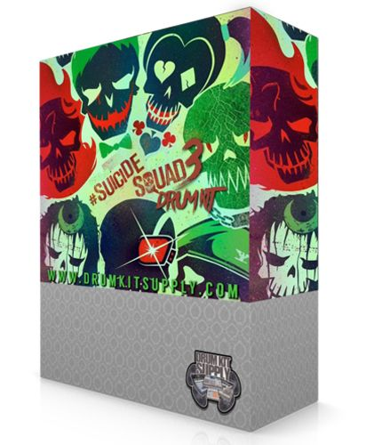 Suicide Squad Drum Kit Vol 3 + Sample Pack WAV