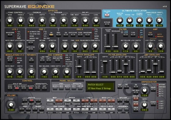 SuperWave Equinoxe Bundle v1.1 Incl.Keygen-R2R