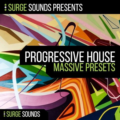 Surge Sounds Progressive House For NI MASSiVE