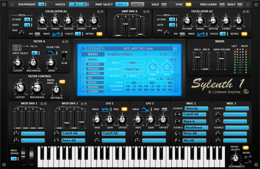 Sylenth1 Version 3.0.0.9 (64 Bit) OSX/PC Uncracked