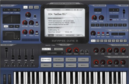 Synapse Audio DUNE2 v2.6.0 WiN MacOSX