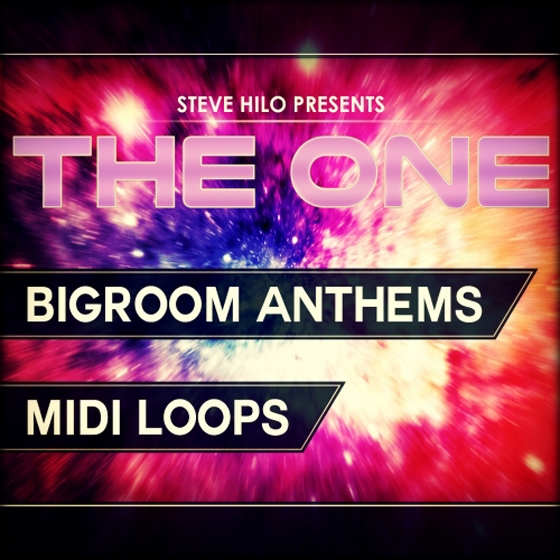 THE ONE Bigroom Anthems MiDi Ni Massive