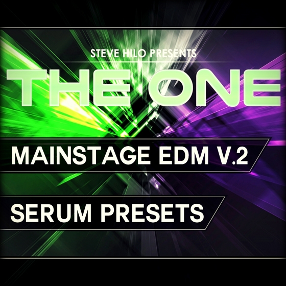 THE ONE Mainstage EDM Vol 2 For XFER RECORDS SERUM