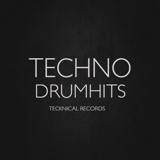 Tecknical Records Techno Drum Hits WAV-AUDIOSTRiKE