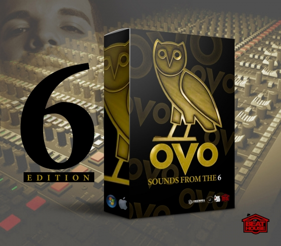 The Beat House OVO Sounds From The 6 WAV MiDi