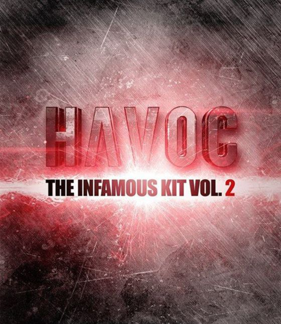 The Drum Broker Havoc The Infamous Kit Vol. 2 WAV