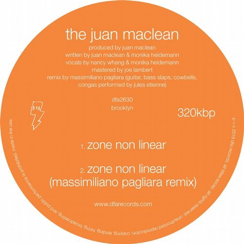 The Juan Maclean – Zone Non Linear [DFA2630]