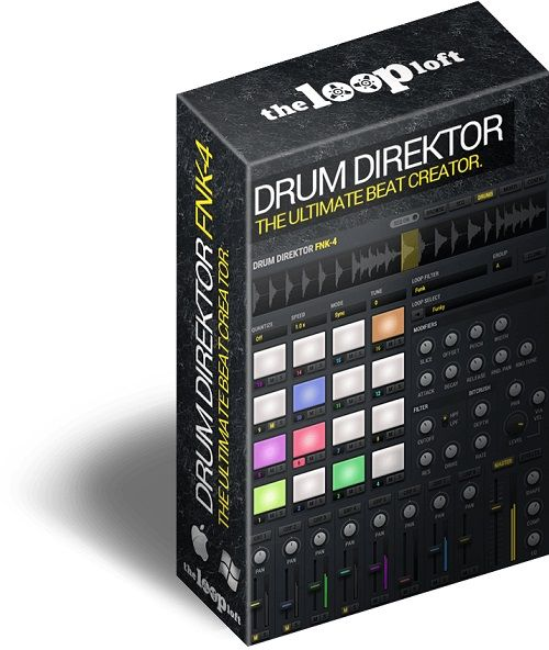The Loop Loft Drum Direktor FNK-4 KONTAKT