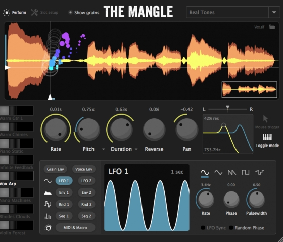 The Mangle Granular Synth/Sampler WiN/MAC