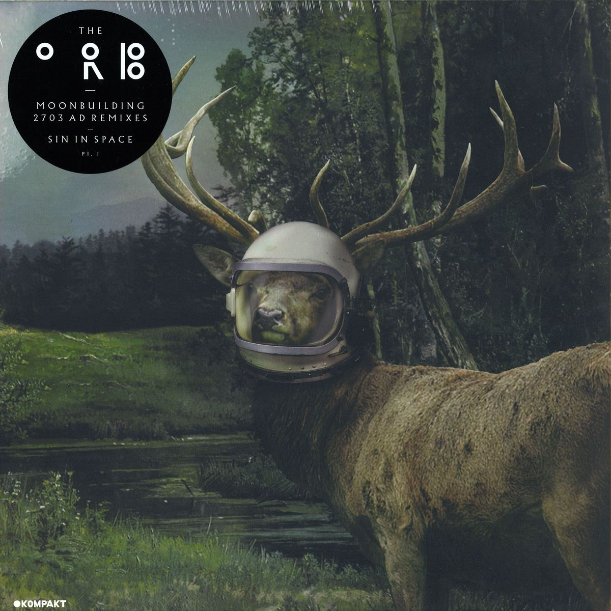 The Orb – Moonbuilding 2703 AD Remixes / Sin In Space, Pt. 1 [KOMPAKT336]
