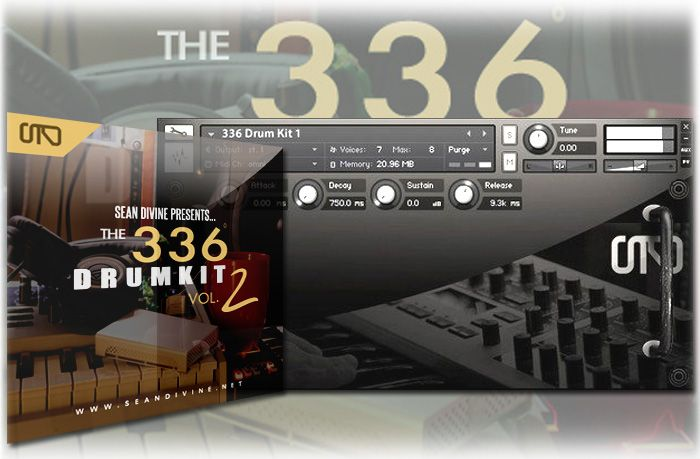 The Producers Choice Sean Divine The 336 Drum Kit Vol.2 KONTAKT WAV Maschine Expansion