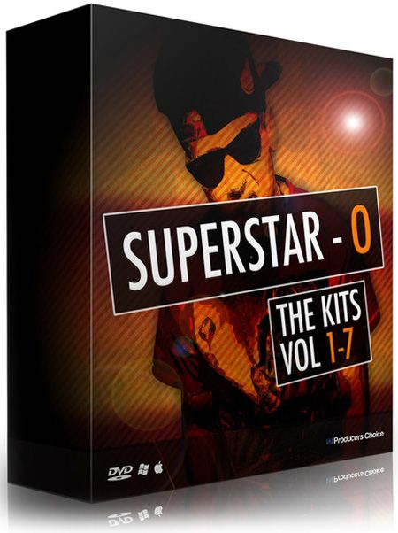 The Producers Choice SuperStar O (SSO) Drum Kits Bundle WAV