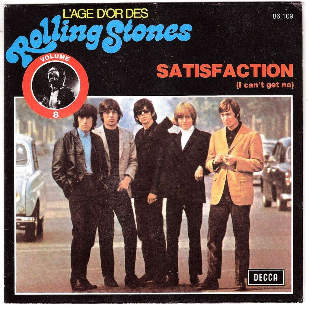The Rolling Stones - Satisfaction Remix Stems