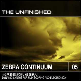 The Unfinished Zebra Continuum for Zebra2